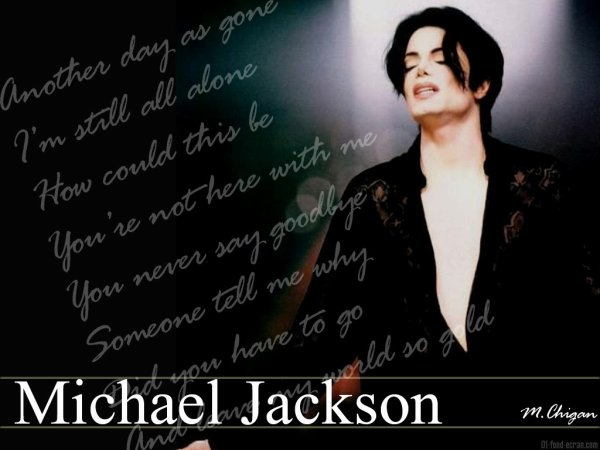 Michael Jackson only