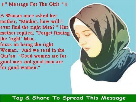 Proverbs in Quran for the good girls