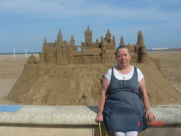 a la plage en espagne avec mon fils (l) (l) (l)