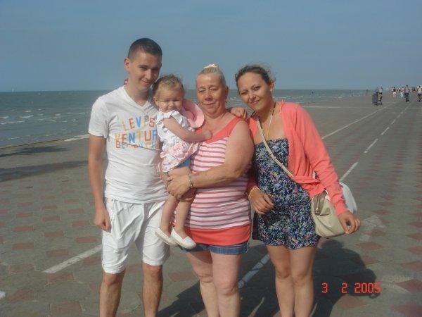 une jrnée a la plage avec mon fils et sa femme (l) (l)
