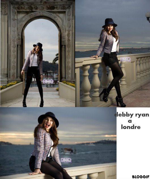 Debby dans Londres + article fan2 sur debby
