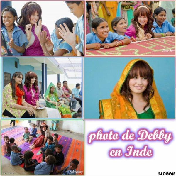 le voyage de Debby en Inde .Plus une avant premiere