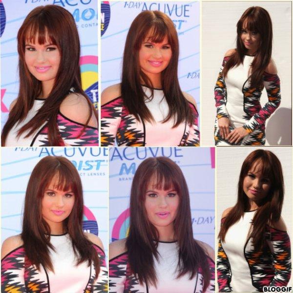 Debby au Teen Choice Award 2012 .