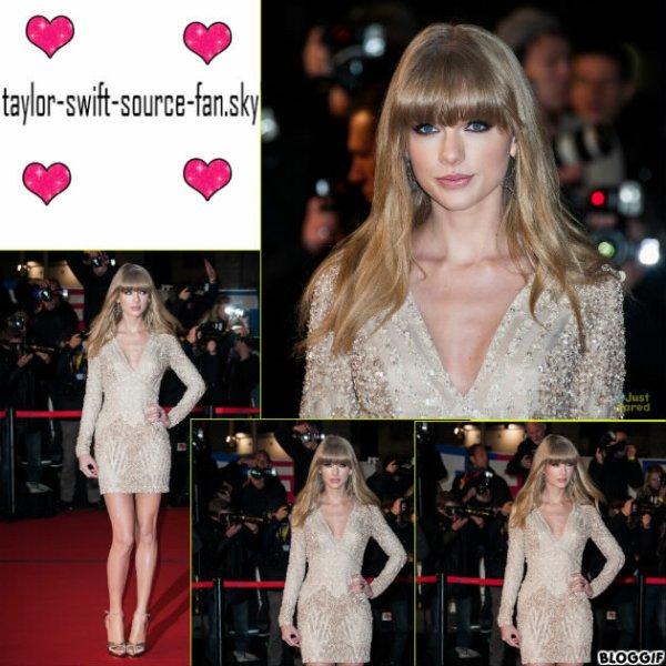 taylor arrivant au nrj music award a canne le 26 janvier+ live coté tenue : énorme top !!!
