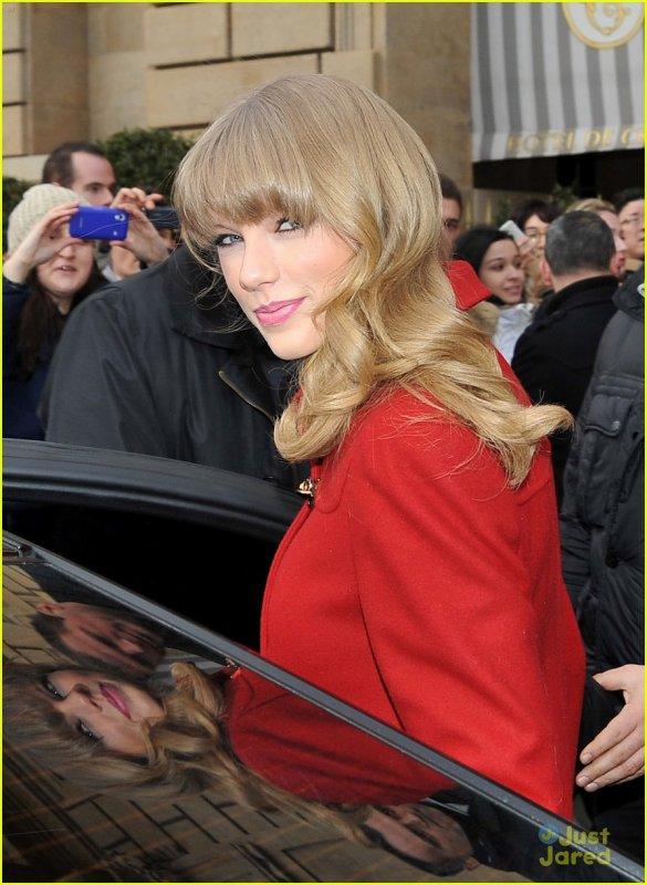 Taylor après les nrj music award et aller a paris