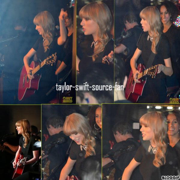 la performance de taylor a paris