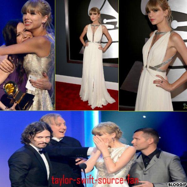 taylor aux grammy award 2013
