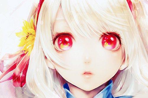 «L'amour est communiqué par les yeux et s'écoule dans le coeur.»