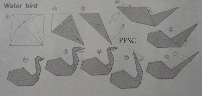 Boucles-D'oreilles Origami