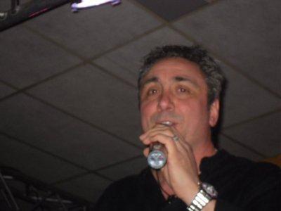 Michel Tosca sur scène
