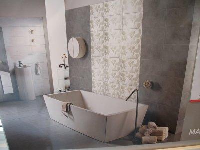 Votre avis nous interesse blog de notre maison 21 - Salle de bain rose et taupe ...