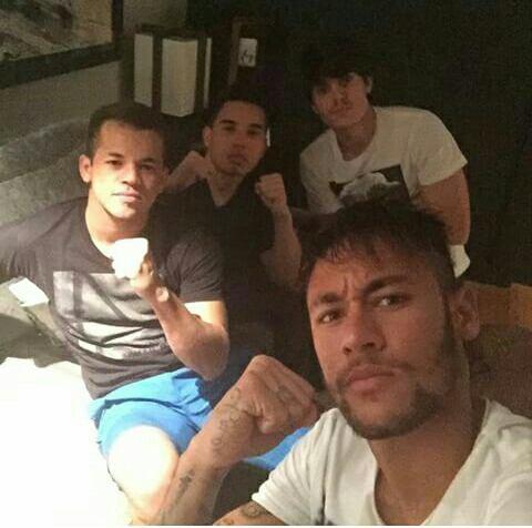Neymar sur instagram
