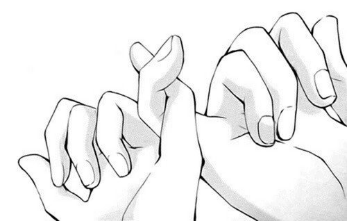 """""""La promesse du petit doigt"""" signifiait à l'origine que si la personne ne tient pas sa promesse,son petit doigt doit  être coupé"""