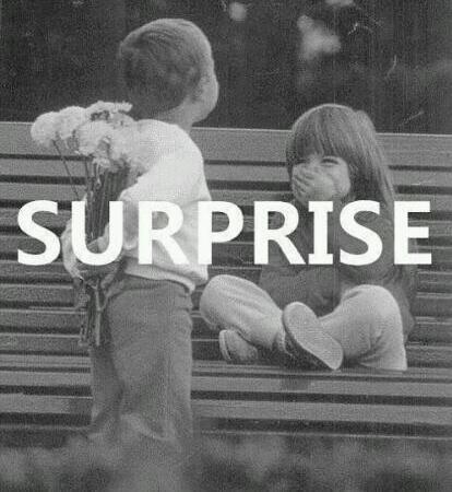 """""""Un vrai homme ment à sa copine,uniquement lorsqu'il lui prépare une surprise"""""""