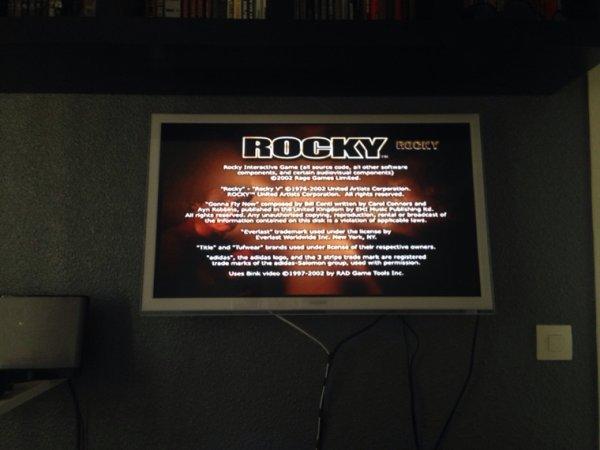 Jeux rocky gamecube