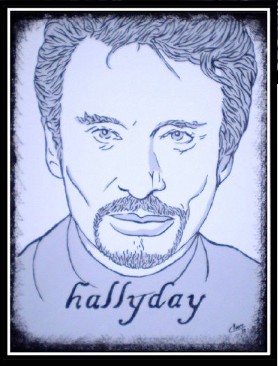 Tableau Johnny Hallyday