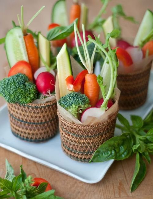 Légumes à croquer