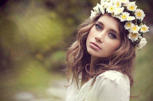Fille + fleurs = Fée / Toutes les filles sont jolies