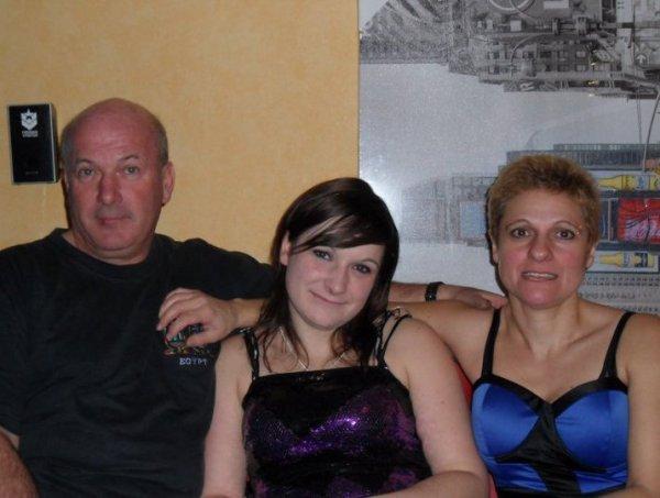 Mes parents d'amour :) <3!!!
