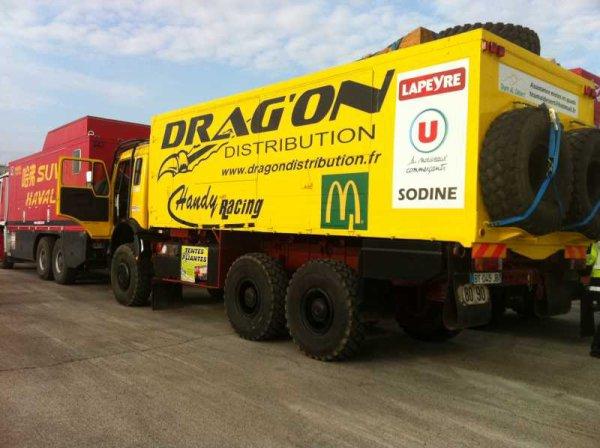 Dakar 2012 – Team Al Desert  Drag'on Distribution sera représenté par le pilote quad Antoine Lecomte N°265 du Team Al Desert au Dakar 2012 qui traversera l'Argentine, le Chili et le Pérou.