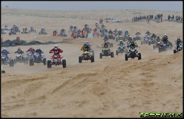la Ronde des Sables d'Hossegor 2012 Quad