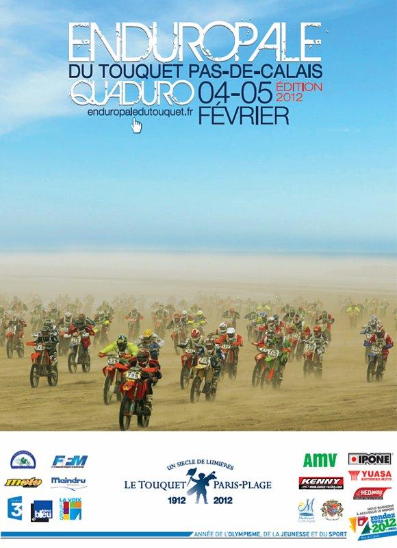 L'Enduropale du Touquet 4 et 5 février 2012.