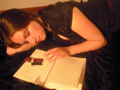 poupée endormie