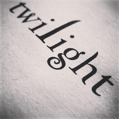The Twilight Saga. ♡