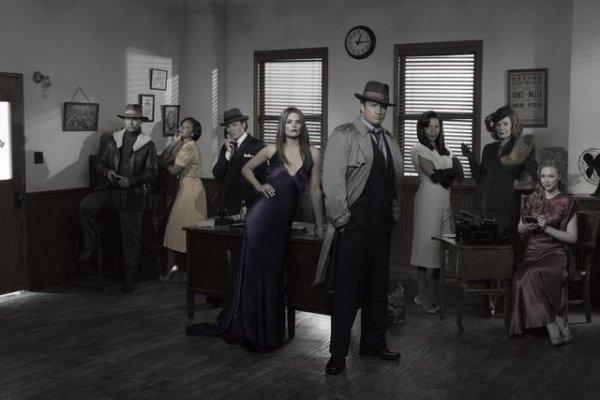 Présentation des acteurs de la serie