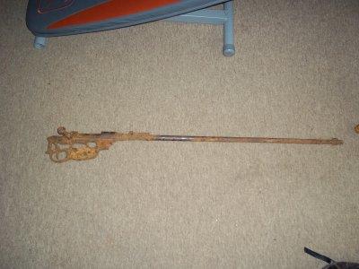 un fusil steyr M95