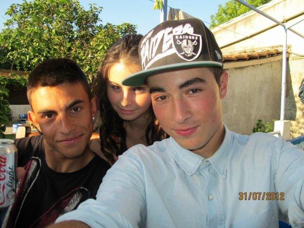 Jeremy , moi et Antoine ^^