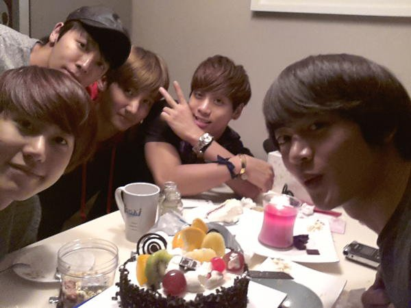 Minho's Birthday Photos (Via Twitter)