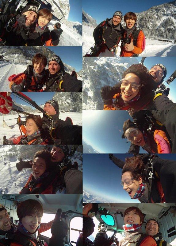 Les Magnifique Adventures de Lee Taemin en SUISSE !