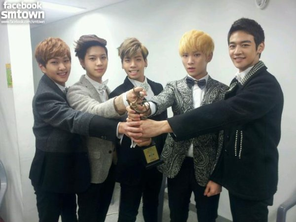 SHINee @ Seoul Music Awards #1