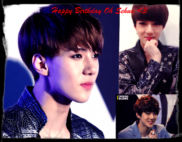 Happy Bithday Sehun <3