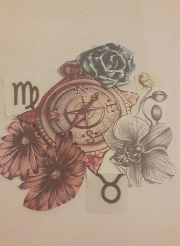 Un dessin dédié par ma fille à mes parents tout est dit :)