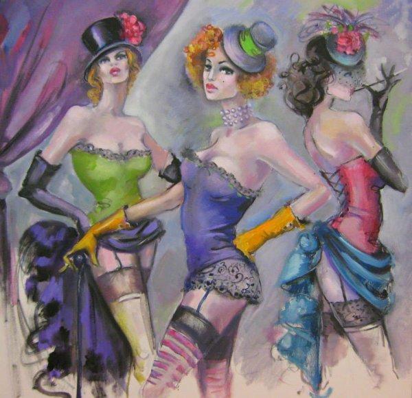 Femmes en aquarelles