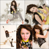 Ré-découvrez le photoshoot de Miley pour son album Breakout.