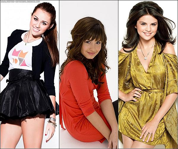 Elles sont belles, ont 18 ans, chantent, ont leurs propres séries et leurs lignes.  Mais laquelle préfères-tu ?
