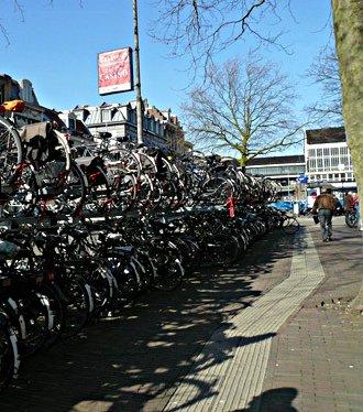 Journée shopping à bicyclette ..