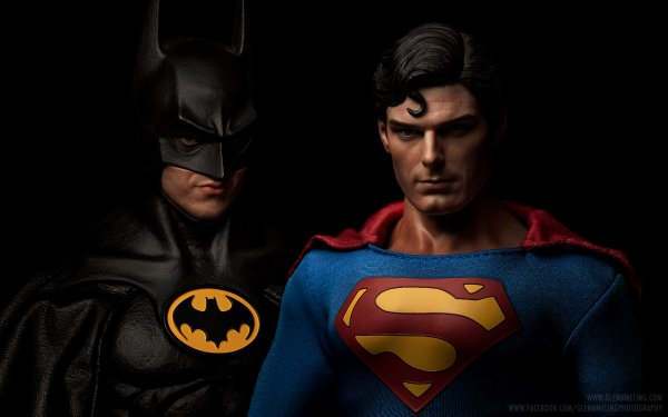 Incroyable: Batman vs Superman avec Michaël Keaton et Christopher Reeve!!!