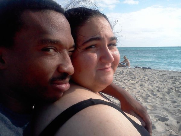 My African Queen And I At The Beach
