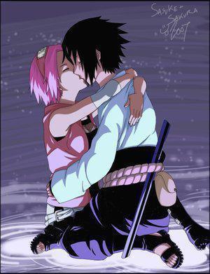 Sasuke & Sakura <3