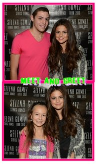 Selena a son hotel , Concert Ottawa , M&G