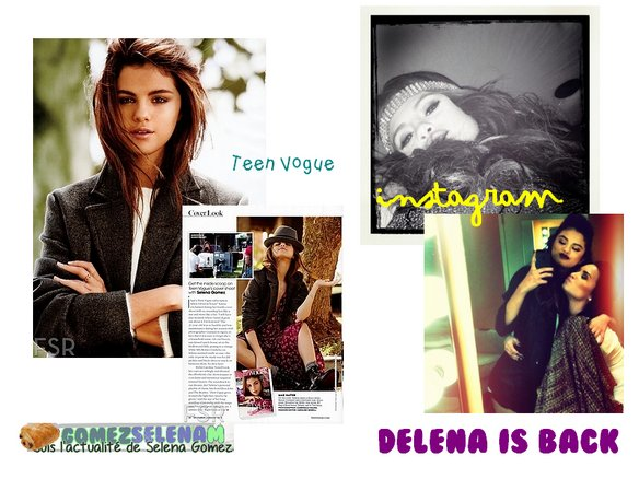 SDT - M&G - Teen Vogue Scans - Nouvel article en dessous !