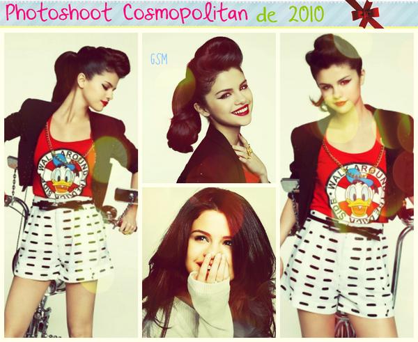 Photoshoots datant de 2010 > Selena au naturel posant avec des fans > Posant avec sa soeur