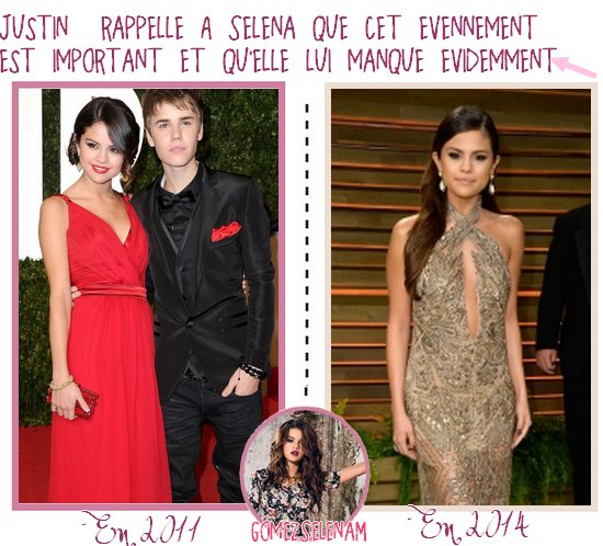 VANITY FAIR OSCAR PARTY 2014 > Flashback Jelena > Instagram