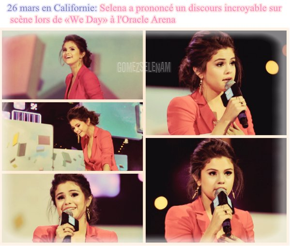 "Discours ""We Day "" > KCA"