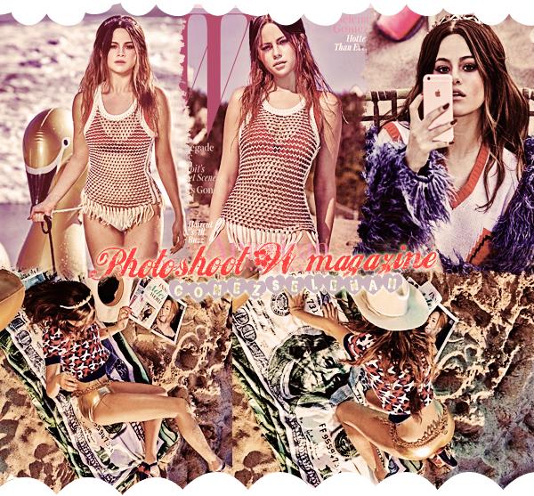 Portrait Selena - Photoshoot W magazine