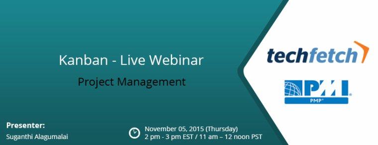 Kanban – Project Management – Live Webinar
